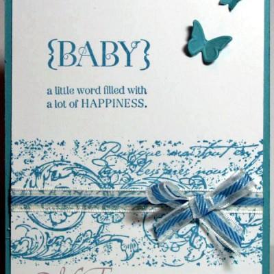 Nog een baby kaartje