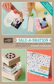 Nieuwe Catalogus en start van de Sale-A-Brations!