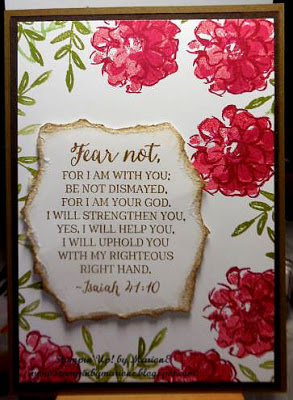 Wonderful Wednesday Fear Not….