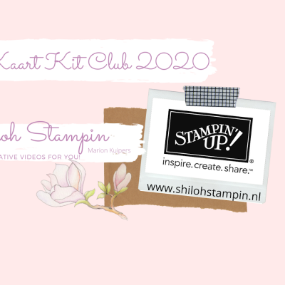 Nieuw: Kaart Kit Club 2020