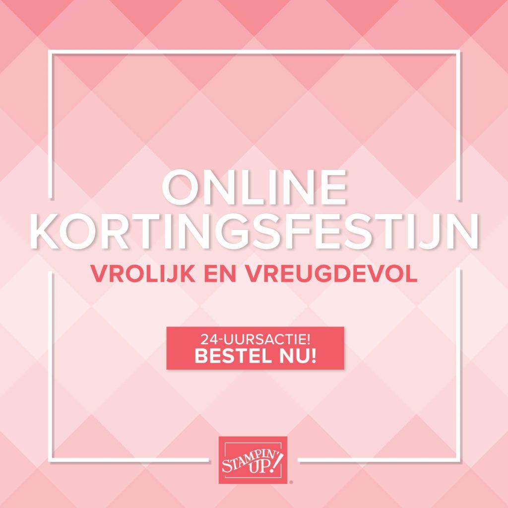 online kortingsfestijn