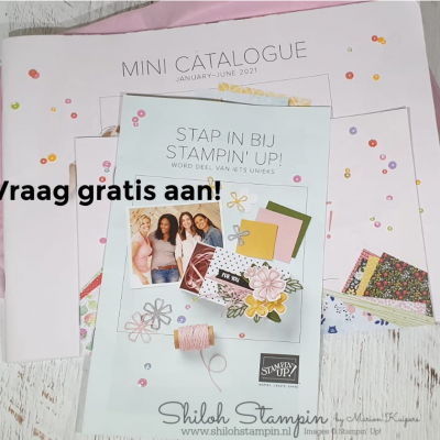 Yes! nieuwe mini catalogus 2021