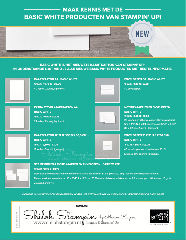 Nieuw Basic white papier