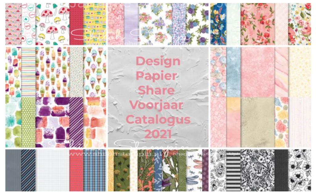 Design papier Share Mini catalogus 2021